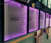 LED 3D infinite wall panel production line