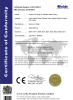 CE EMC certificate for Electric towel rails
