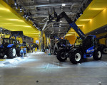The area for large machinery