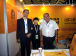 Overseas buyers were deeply impressed by Made-in-China.com's smile