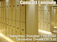 Changzhou Zhongtian Fire-Proof Decorative Sheets Co., Ltd.