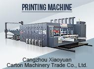 Cangzhou Xiaoyuan Carton Machinery Trade Co., Ltd.