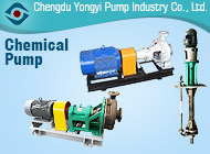 Chengdu Yongyi Pump Industry Co., Ltd.