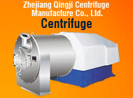 Zhejiang Qingji Centrifuge Manufacture Co., Ltd.