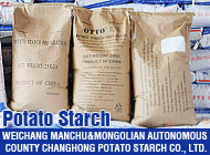 WEICHANG MANCHU&MONGOLIAN AUTONOMOUS COUNTY CHANGHONG POTATO STARCH CO., LTD.