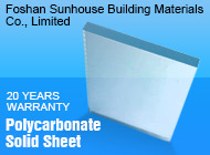 Foshan Sunhouse Building Materials Co., Limited