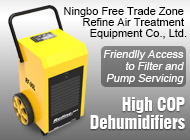 Ningbo Free Trade Zone Refine Air Treatment Equipment Co., Ltd.