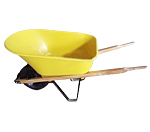 Wooden Handle Wheelbarrow