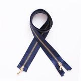 Silk Tape Metal Zipper