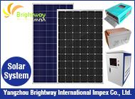 Yangzhou Brightway International Impex Co., Ltd.