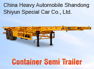 China Heavy Automobile Shandong Shiyun Special Car Co., Ltd.