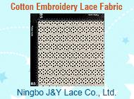 Ningbo J&Y Lace Co., Ltd.