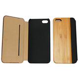 PU Leather Bamboo Case