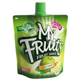Plastic Stand Up Spout Juice Packaging Pouch