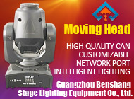 Guangzhou Benshang Stage Lighting Equipment Co., Ltd.