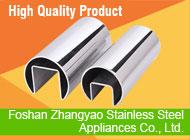 Foshan Zhangyao Stainless Steel Appliances Co., Ltd.