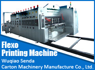 Wuqiao Senda Carton Machinery Manufacture Co., Ltd.