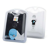 Pet Plastic Clamshell for Underwear