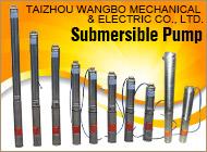TAIZHOU WANGBO MECHANICAL & ELECTRIC CO., LTD.