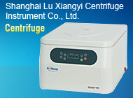 Shanghai Lu Xiangyi Centrifuge Instrument Co., Ltd.