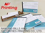 NANJING BILLS AND SECURITIES PRINTING CO., LTD.