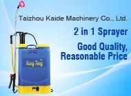 Taizhou Kaide Machinery Co., Ltd.