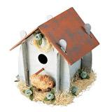 Flat Bottom Bird House