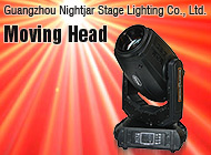 Guangzhou Nightjar Stage Lighting Co., Ltd.