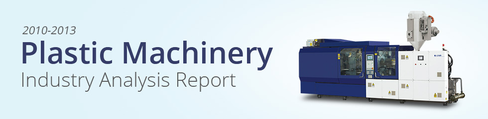 2010-2013 Plastic Machinery Industry Analysis Report