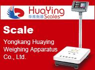 Yongkang Huaying Weighing Apparatus Co., Ltd.