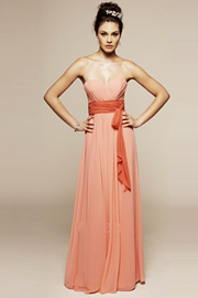 Color Bridesmaid Dress