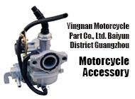 Yingnan Motorcycle Part Co., Ltd. Baiyun District Guangzhou