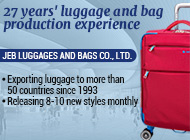 JEB LUGGAGES AND BAGS CO., LTD.