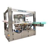 Máquina de etiquetado rotatoria automática de la etiqueta engomada
