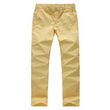 Pantalones ocasionales de los hombres